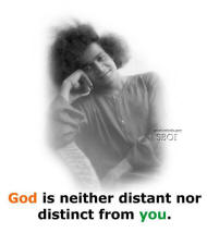 God is neither distant nor distinct from you sathya sai baba