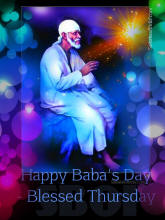 Happy Baba's Day - Blessed Thursday