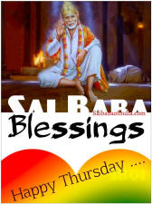 Happy Thursday - Sai Baba's Special Day