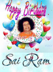 Happy Birthday Sri Sathya Sai Baba