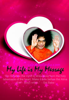 My Life Is MY Message - Sri Sathya Sai Baba