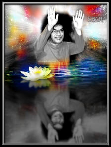 sathya-sai-baba-blessing-shadow-black-white-art