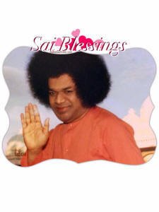 sathya sai baba blessings photos