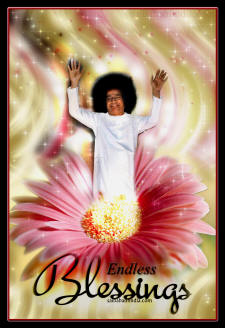ENDLESS BLESSINGS SATHYA SAI BABA