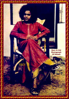 Rare and Old Photograph Of Sri Sathya Sai Baba