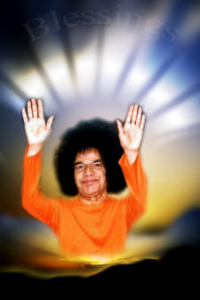 sathya sai baba blessings - hd photo -pic-image