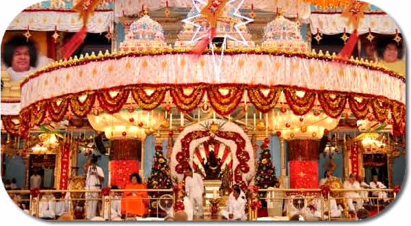 Christmas Eve in Prasanthi Nilayam - 24 Dec 2009