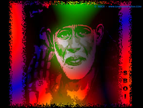 Sai Baba Glowing photo wallpaper