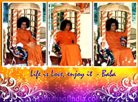 Sai-Baba-jhoola-swing-prasanthi-nilayam - Life is Love, enjoy it