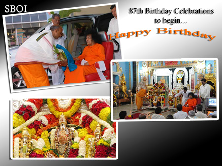 sri-sathya-sai-baba-87th-Birthday-Celebrations-to-begin-
