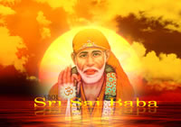 shirdi-sai-baba-face-inside-sun-wallpaper