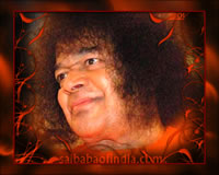 GOD IS JOY - bhagawan-sri-sathya-sai-baba-smiling-sai-baba-orange-robe-swami
