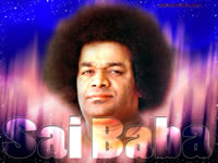 sathya-sai-baba-eye-contact-strong-look - Sai Baba Text wallpaper