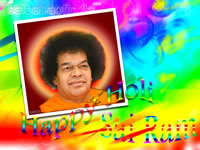 HOLI SAI BABA HAPPY HOLI TO ALL SAI DEVOTEES - SAI RAM
