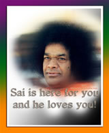 Sai is here and he loves you - intense-look-sathya-sai-baba