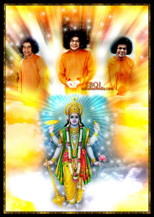Sri-Sathya-Baba-come-close-maha-vishnu