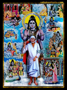 indian gods- shiva-leela-shirdi-sai-baba