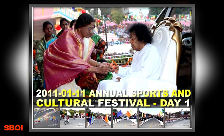 Annual Sports and Cultural Meet 2011 - SAI BABA