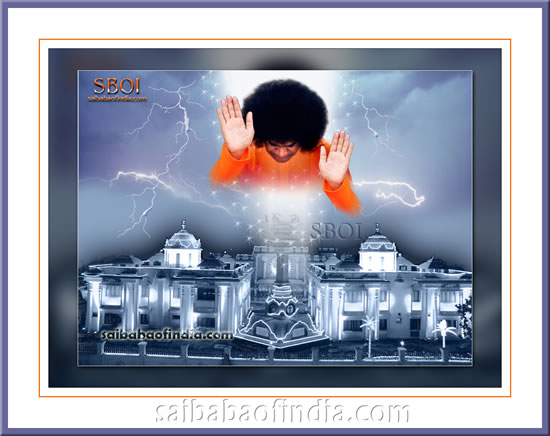 MY BLESSINGS ARE ALWAYS WITH YOU - Sri Sathya Sai Baba Samadhi Darshan - Prasanthi Nilayam