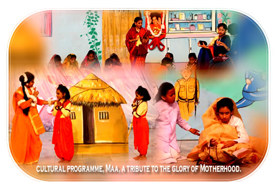 cultural programme, Maa, a tribute to the glory of Motherhood kulwant hall prasanthi nilayam