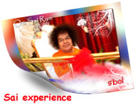 Experience of Sai devotee -A Former Student of Swami�s Institute