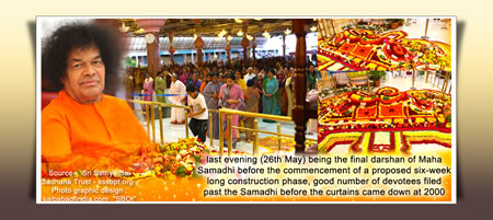 sri-sathya-sai-baba-samadhi-26th-may-2011-final-darshan-before-construction-phase-begins