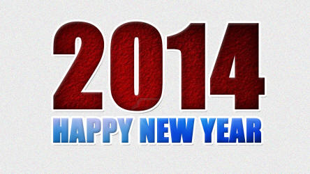 Beautiful New Year 2014 Wallpapers