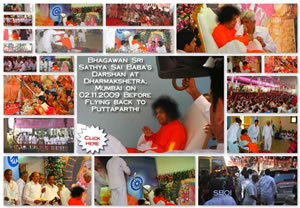 Photos Bhagawan's Departure from Mumbai