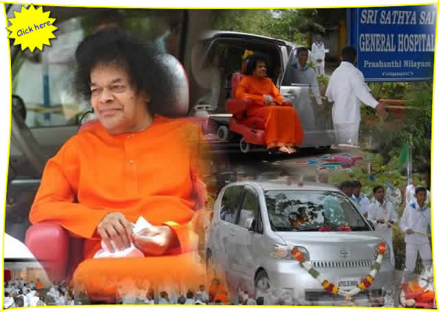 The Sri Sathya Sai General Hospital at Prasanthi Nilayam celebrated its anniversary today. Bhagavan came for morning darshan after 10.15 while the bhajans went on.