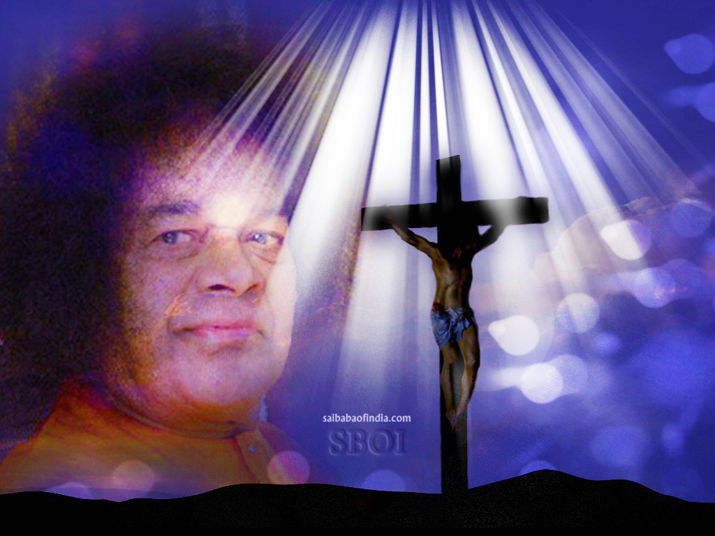 easter greeting cards -sai-baba  u0026 jesus themes