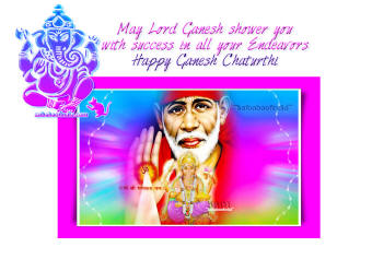 Shirdi Sai Baba Ganesha wallpapers