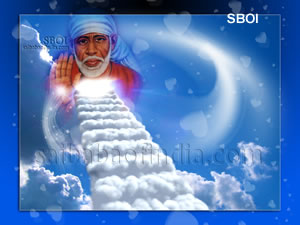 """Heavenly Blessings of Sai Baba""  - New SBOI Wallpaper"
